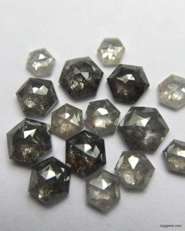 Hexagonal diamonds