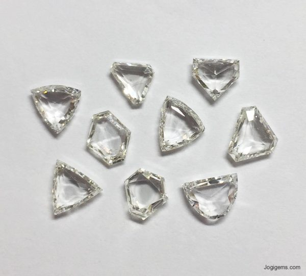 Transparent Antique Shape Diamonds