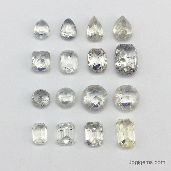 Antique shape diamond collection