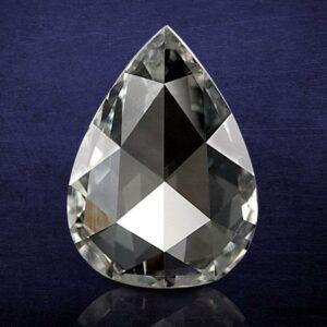 Pear Shape Rose Cut Diamond
