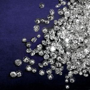 White Round Brilliant Cut Diamonds Manufacturer