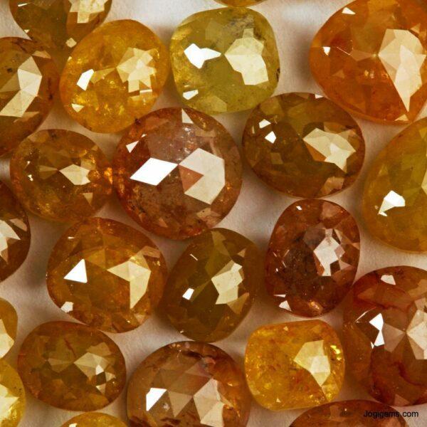 Round shape Icy Rustic Diamond