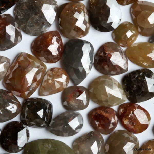 Opaque Clarity Icy Rustic Diamond