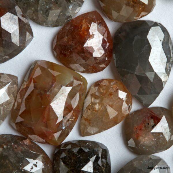 Antique Shape Big size Icy Rustic Diamond