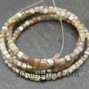 Raw diamond beads