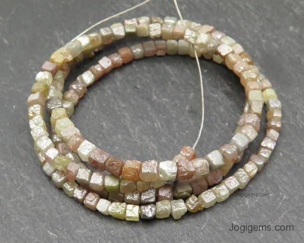 Rough Diamond Beads