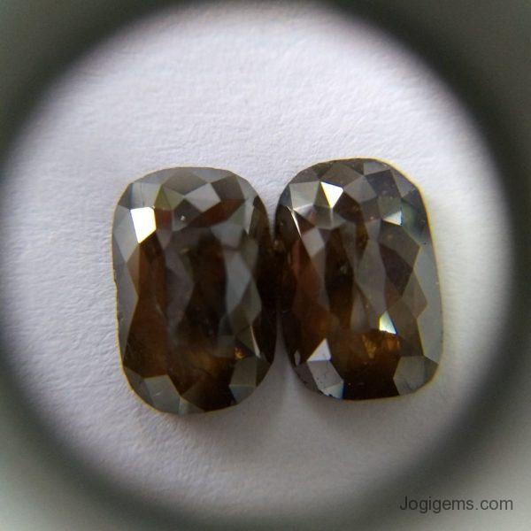 Natural icy rustic diamonds