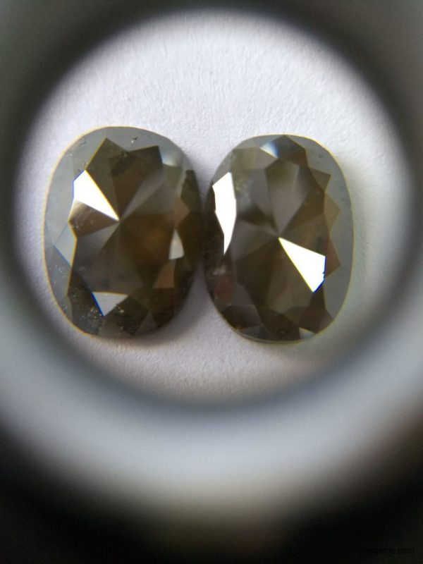Natural icy rustic diamonds