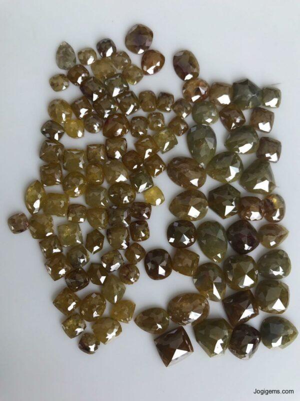 Fancy shape Opaque Rustic diamond ICY
