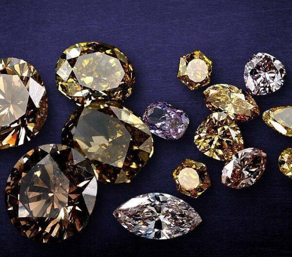 Fancy Color With Fancy Shape Diamonds