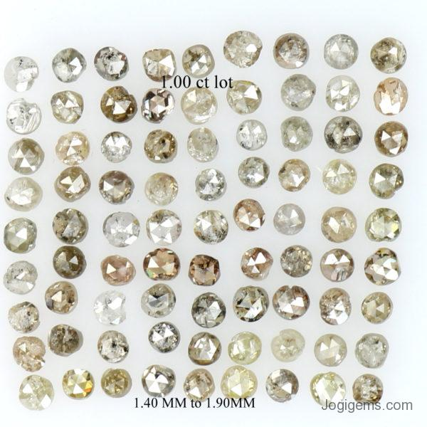 Multi color chakri diamonds