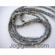 Raw diamond Mala