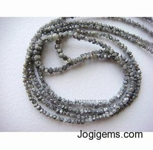 Raw diamond Strand