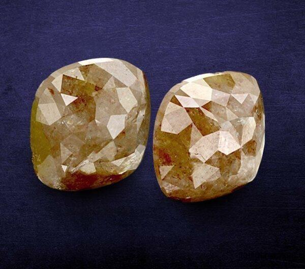 Radiant Icy Rustic Diamonds