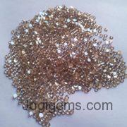 Pink Color Chakrti Rose cut diamonds