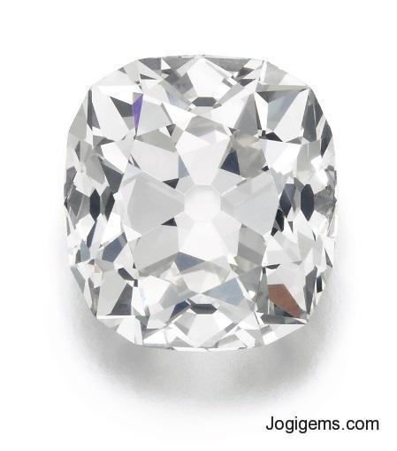 natural cushion shape diamonds