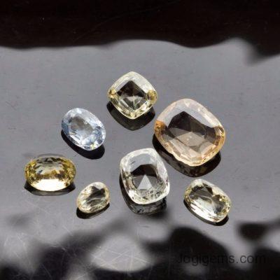 natural loose cushion shape  diamonds