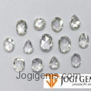 Natural Oval Cut diamonds