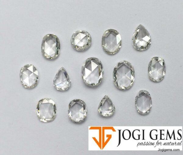 Natural Oval Cut diamonds