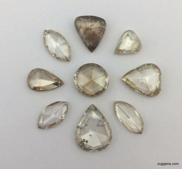 Rose cut diamond manufacturer