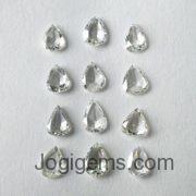 Natural Modified Cut Rose cut diamonds