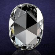 Oval Shape Rose Cut Diamond Manufacturer