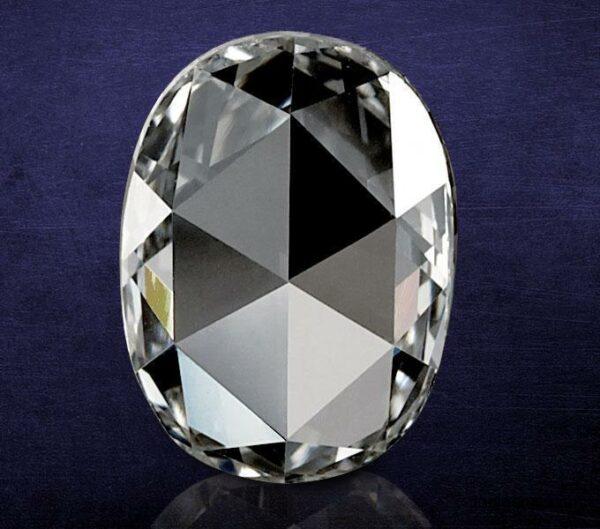 Oval Shape Rose Cut Diamond Manufacturer