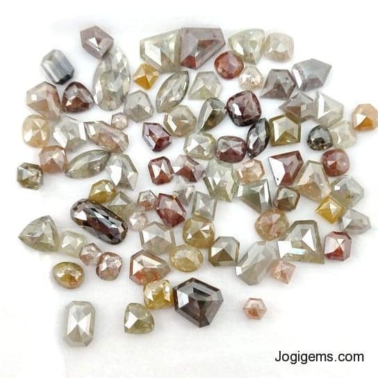antique ICY diamonds