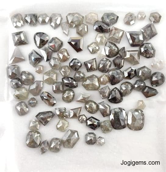 grey icy diamonds