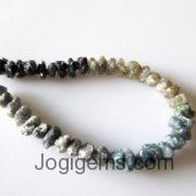 multi color Rough Diamond Beads Necklace Manufacturer