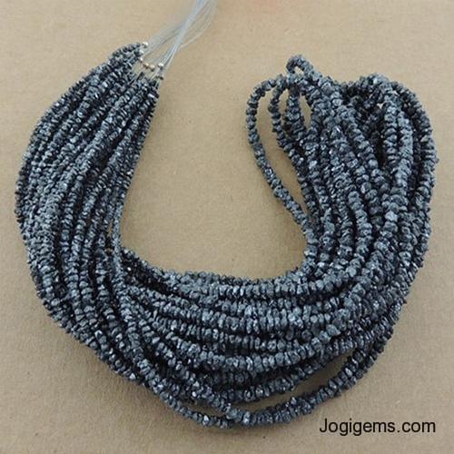 grey rough diamond beads manufacturer