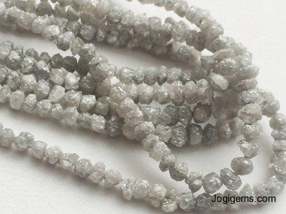 big size raw diamond beads