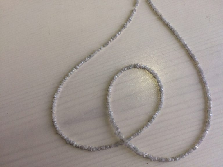 Uncut Diamond Beads Necklace Manufacturer