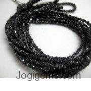 Raw Black Diamond Beads