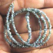 blue Diamond Beads Necklace Manufacturer