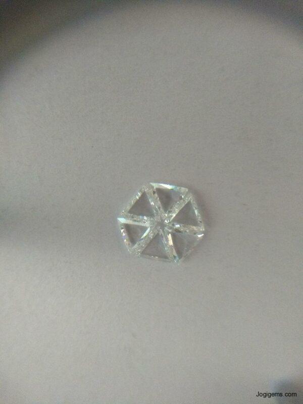 TRILLION ROSE CUT DIAMOND