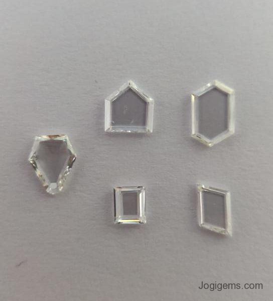 Antique Shape Rose Cut Diamond
