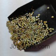 rough diamond cube beads