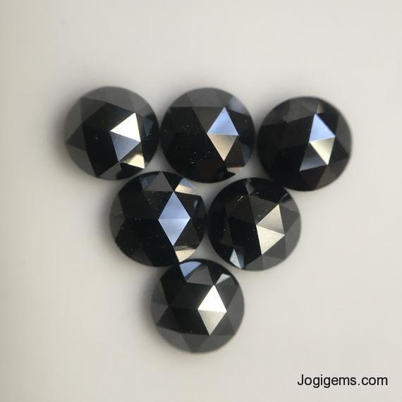 4mm loose black diamond