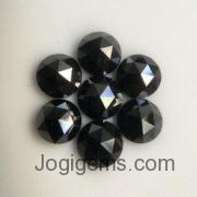 5mm Natural black diamond