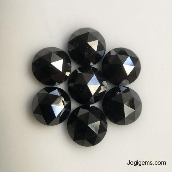 5mm Natural black diamond