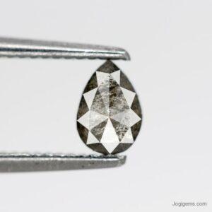 Pear salt and pepper diamonds
