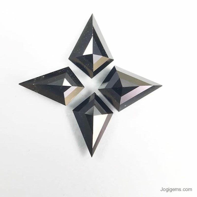 Black Kite Shape Diamond