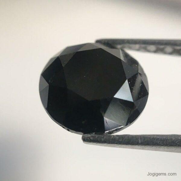 Genuine black diamond