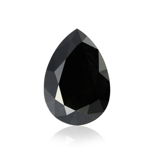 pear shaped black diamond