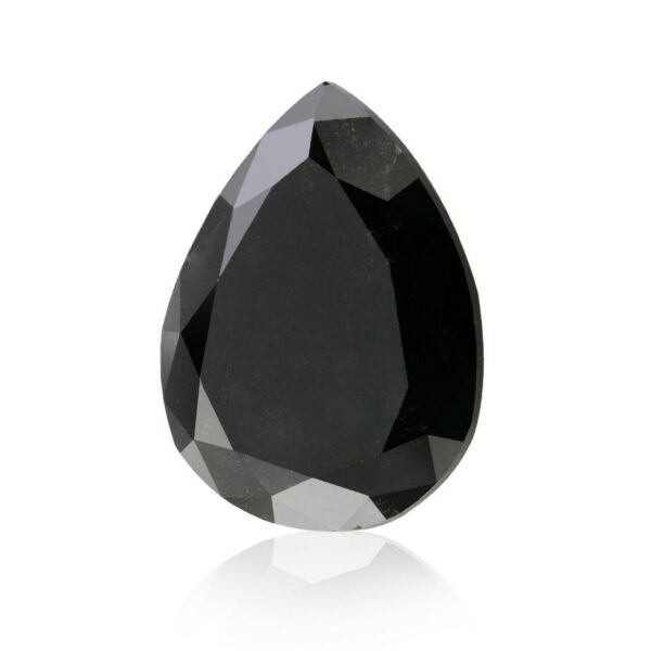 black diamond pear shape