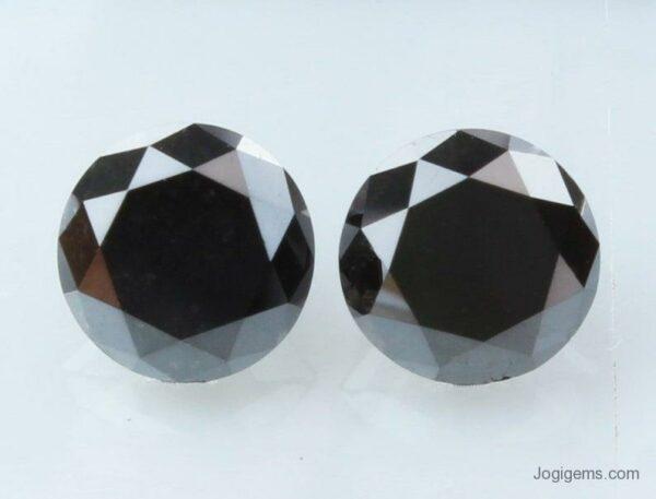 black diamonds pair