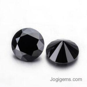 natural black diamond pair