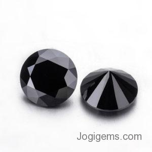 natural black diamond pair