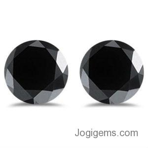 loose black diamond pair